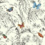 "York Wallcoverings Ashford Toiles 27' x 27"" Papillon Roll WHW3136"
