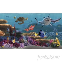 York Wallcoverings Walt Disney Kids II Finding Nemo Wall Mural DOQ1316
