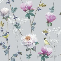 Arthouse Ella 33.5' x 22 Floral and Botanical Wallpaper AHOU1048