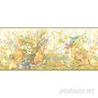 Brewster Home Fashions 15' x 10.25 Floral Border Wallpaper BZH7941