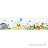 Room Mates Room Mates Deco 9' x 1.5 Winnie The Pooh Toddler Border Wallpaper RZM1966