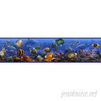 "Room Mates Studio Designs Under the Sea Fish 15' x 5"" Wallpaper Border RZM1576"