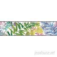 York Wallcoverings Border Portfolio II Canopy 15' x 6 Floral Botanical Border Wallpaper DOQ2267