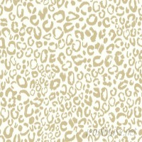 "Bloomsbury Market Strang Leopard 16.5' L x 20.5"" W Animal Print Peel and Stick Wallpaper Roll BLMS9104"