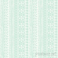 Bungalow Rose Samrat Tribal 16.5' L x 20.5 W Abstract Peel and Stick Wallpaper Roll BGRS3787