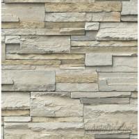 Orren Ellis Concord Slate 18' L x 20.5 W Peel and Stick Wallpaper ORNL4450