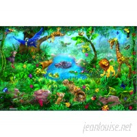 Wallhogs Jungle Wall Mural WHGS2046