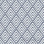 """WallPops! Nu 18' x 20.5"""" Arrowhead Deep Blue Wallpaper Roll WPP2166"""