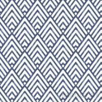 WallPops! Nu 18' x 20.5 Arrowhead Deep Blue Wallpaper Roll WPP2166