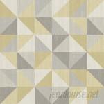 """WallPops! NuWallpaper Jigsaw Peel and Stick 18' x 20.5"""" Geometric Roll Wallpaper WPP2234"""