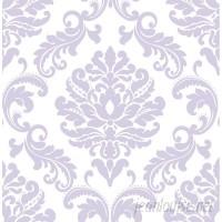 WallPops! Purple Ariel Peel And Stick Wallpaper Roll WPP1610