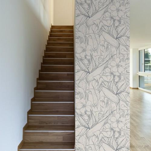 Walls Need Love Ida Removable 10' x 20 Floral Wallpaper WANL3454