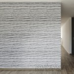 "Walls Need Love Inked Lines Removable 8' x 20"" Stripes Wallpaper WANL2652"