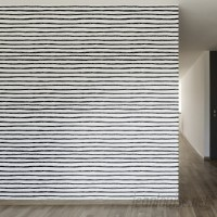 Walls Need Love Inked Lines Removable 8' x 20 Stripes Wallpaper WANL2652