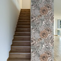 Walls Need Love Muted Removable 10' x 20 Floral Wallpaper WANL2621