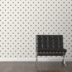 "Walls Need Love Scribble Removable 10' x 20"" Polka Dot Wallpaper WANL3020"