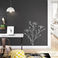Wrought Studio Rumbaugh Chalkboard 16.5' L x 20.5 W Solid Peel and Stick Wallpaper Roll VRKG7652