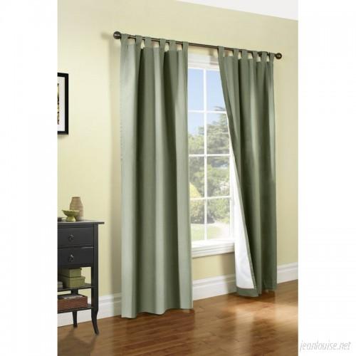 Alcott Hill Ranger Solid Room Darkening Thermal Tab Top Curtain Panels ACOT2532