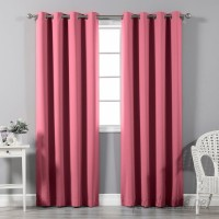 Alcott Hill Schaeffer Solid Blackout Thermal Grommet Curtain Panels ACOT4344