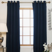 Andover Mills Caples Solid Blackout Thermal Grommet Curtain Panels ADML1967