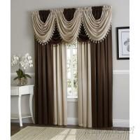 Astoria Grand Weisberg 9 Piece Faux Silk Solid Blackout Rod Pocket Curtain Panels Set ARGD2576