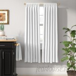 Charlton Home Columbia Solid Blackout Thermal Rod Pocket Single Curtain Panel CHRL1860