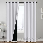 Charlton Home Hosler Insulated Lined Solid Blackout Thermal Grommet Curtain Panels CHRH4865