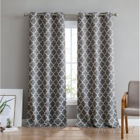 Ebern Designs Alverez Insulated Blackout Thermal Grommet Curtain Panels EBDG2966