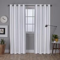 Highland Dunes Champlain Solid Blackout Grommet Curtain Panels HLDS3337