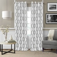 Mercury Row Valdovinos Geometric Blackout Grommet Single Curtain Panel MCRW6704