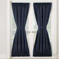 No. 918 Montego Solid Room Darkening Rod Pocket Single Curtain Panel LCTN1035