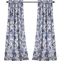 Red Barrel Studio Loader Floral/Flower Room Darkening Thermal Rod Pocket Curtain Panels RDBE1852