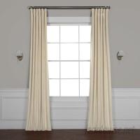 Red Barrel Studio Riverton Solid Room Darkening Rod Pocket Single Curtain Panel RBRS6533