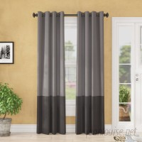 Three Posts Arrowsmith Striped Blackout Thermal Grommet Single Curtain Panel THPS3441