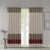 Three Posts Berardi Striped Room Darkening Rod Pocket Single Curtain Panel TRPT5042