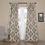 Trent Austin Design Alessandro Damask Blackout Thermal Single Curtain Panel TRNT4246