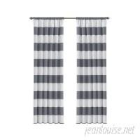 Viv + Rae Jameson Striped Blackout Thermal Rod Pocket Single Curtain Panel VVRO6709