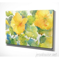 Bay Isle Home 'Citrus Hibiscus' Oil Painting Print BAYI8024