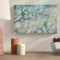 Bloomsbury Market 'Cherry Blossoms II' Print on Wrapped Canvas BLMT5953