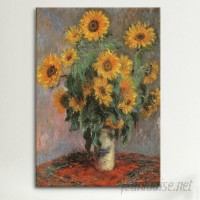 East Urban Home 'Sunflowers 1889' Graphic Art Print ESRB6837
