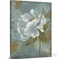 Great Big Canvas 'Peony Tile II' by Silvia Vassileva Painting Print GBCN3771