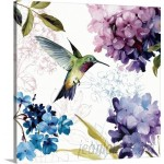 Great Big Canvas 'Spring Nectar Square II' by Lisa Audit Painting Print GRNG8202