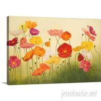 Great Big Canvas 'Sunlit Poppies' Janelle Kroner Painting Print GRWO6836