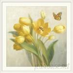 Great Big Canvas 'Yellow French Tulips' Danhui Nai Painting Print GRWO1217