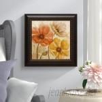 Lark Manor Poppy Allure II by Conrad Knutsen Framed Painting Print LRKM2102