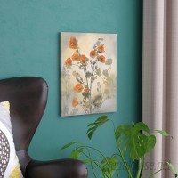 Red Barrel Studio 'Red Poppy' Painting Print on Wrapped Canvas RBRS6633