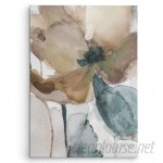 WexfordHome 'Watercolor Poppy I' by Carol Robinson Painting Print on Wrapped Canvas WEXF1541