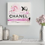 Willa Arlo Interiors 'Dripping RosesFashion Art' Wrapped Canvas Print WRLO2377