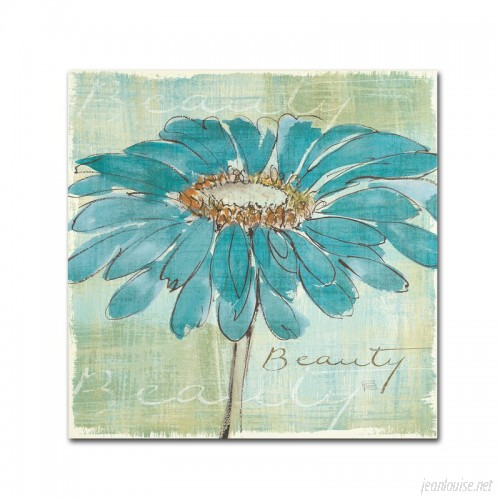 Winston Porter 'Spa Daisies' Framed on Canvas WNST5315