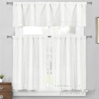 August Grove Star Valley Ranch 3 Piece Kitchen Curtain Set AGGR8226